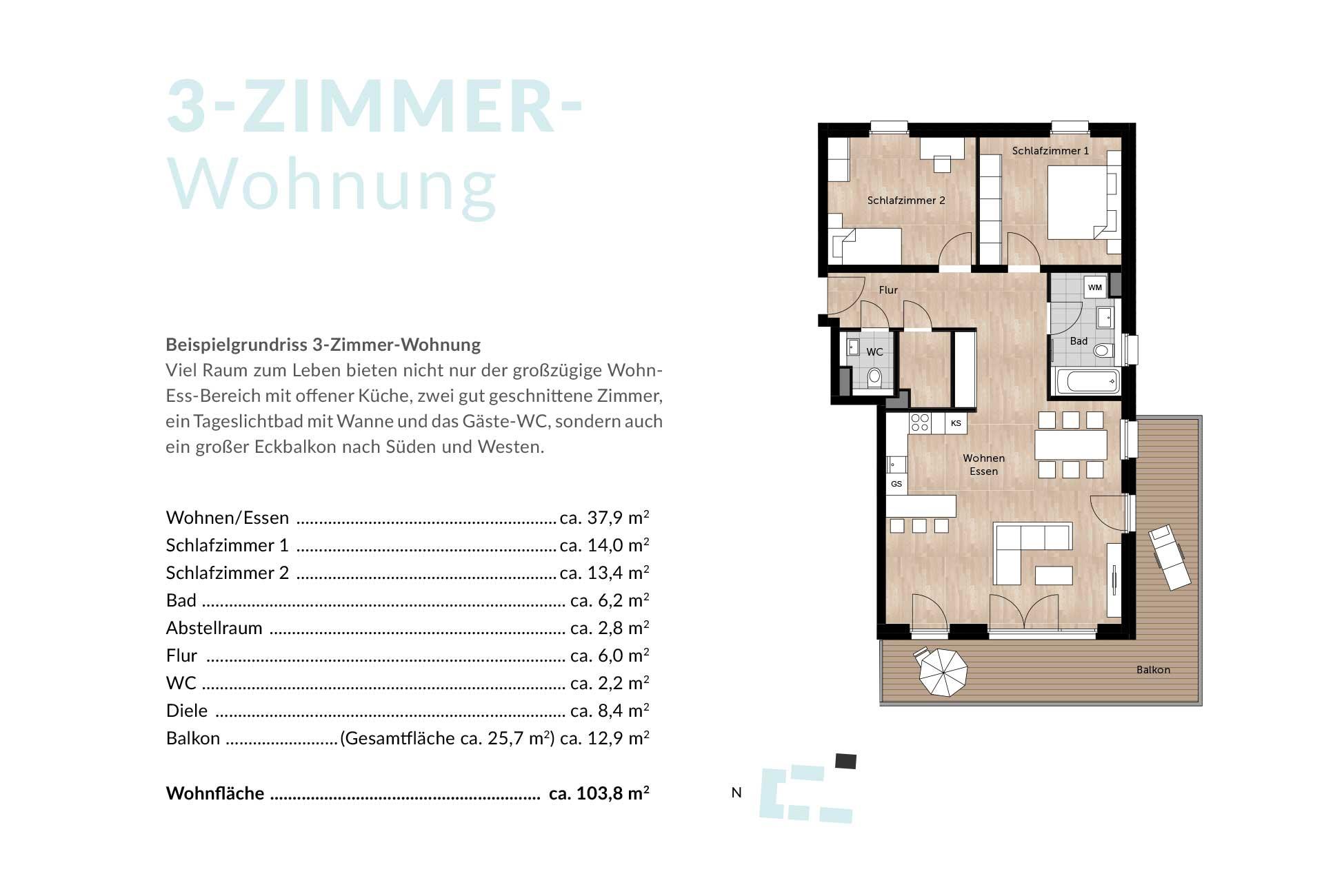 freiraum living, Wohnzimmer dekoo